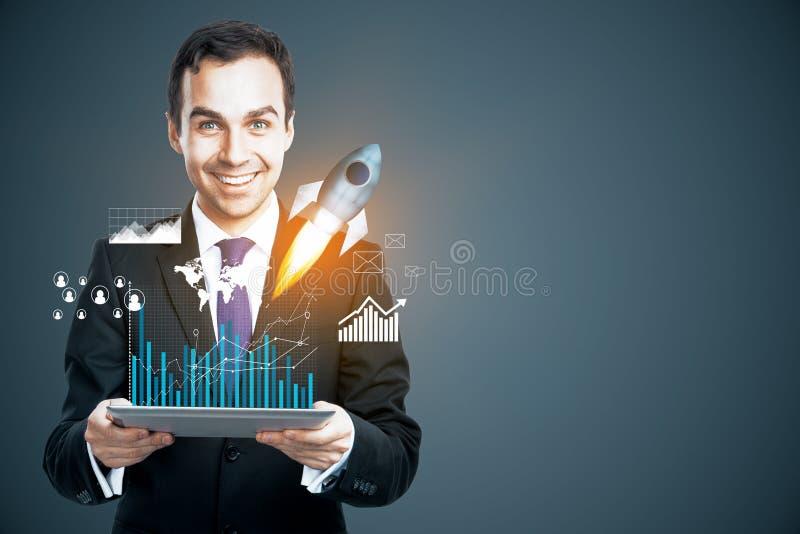 Conceito do empreendimento imagem de stock