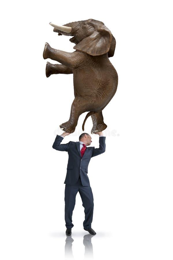 Conceito do equilíbrio do negócio fotografia de stock royalty free