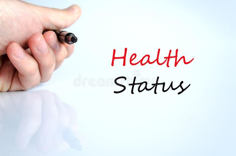 Conceito do estado de saúde imagens de stock