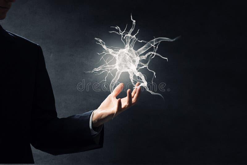 Conceito do estudo da neurologia fotografia de stock royalty free