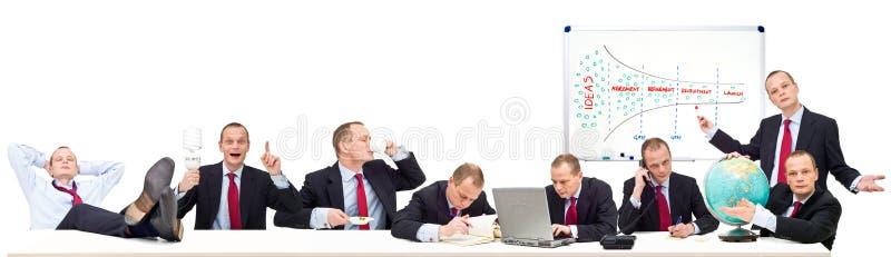 Conceito do funil da idéia fotos de stock royalty free