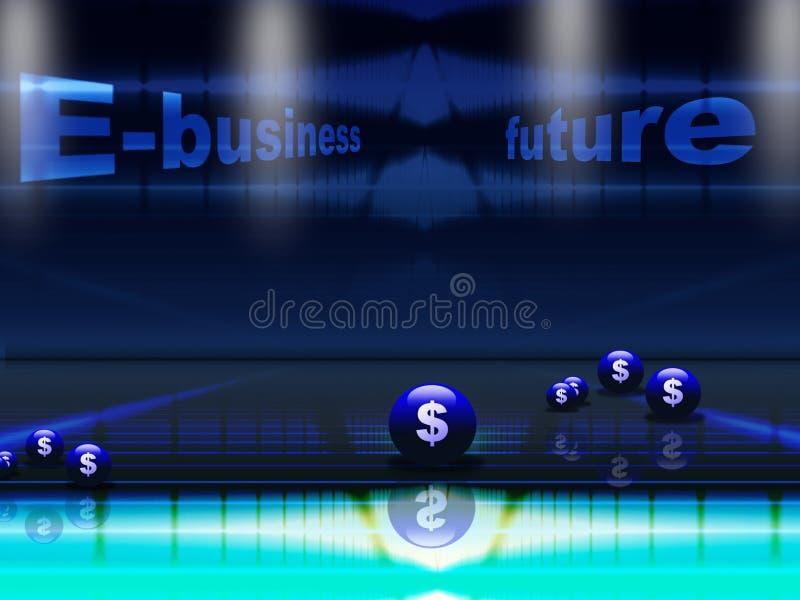 Conceito do futuro do comércio electrónico fotos de stock royalty free