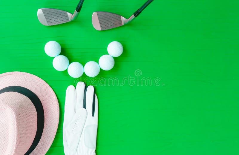 Conceito do golfe foto de stock