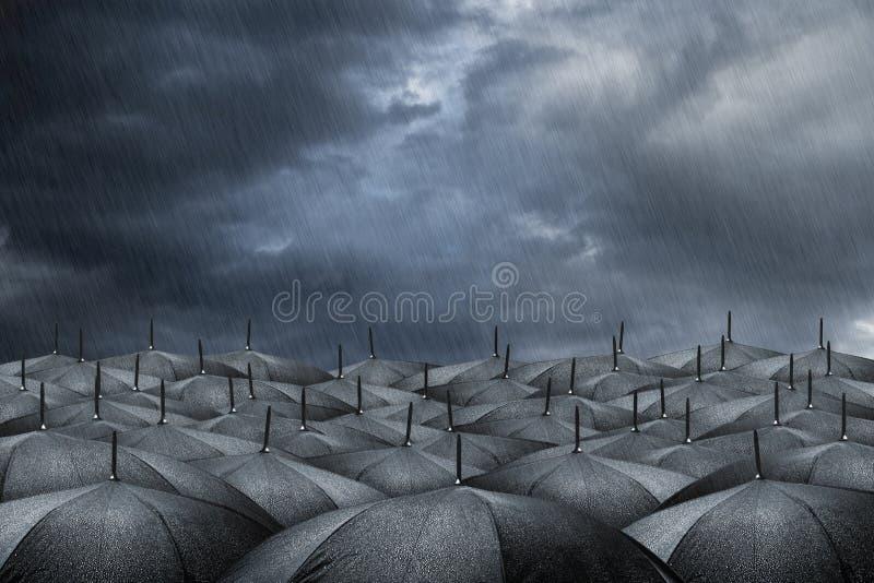 Conceito do guarda-chuva fotografia de stock royalty free