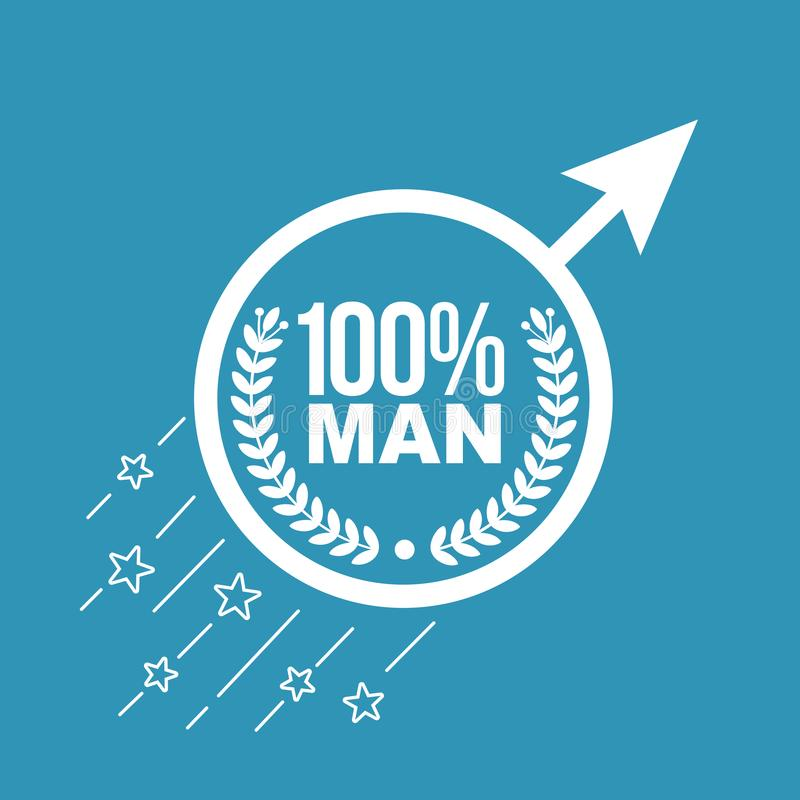 Conceito do homem de manutenção ilustração royalty free