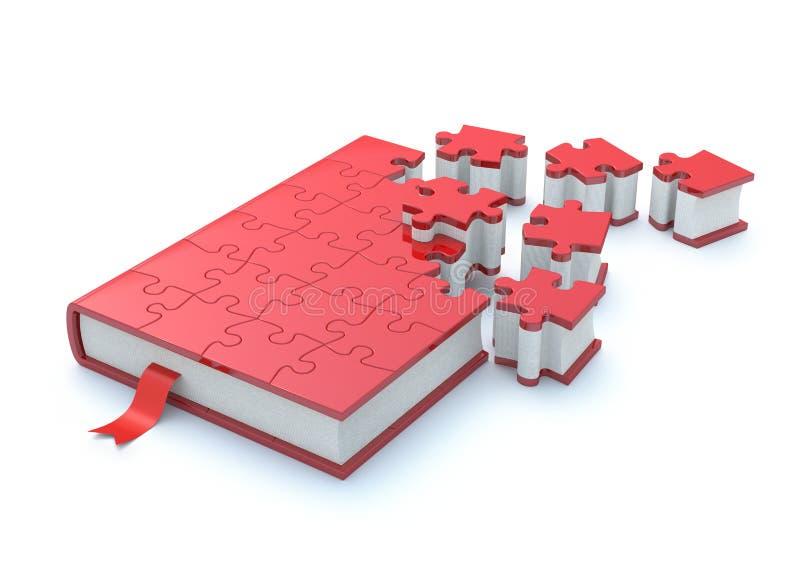 Conceito do livro ilustração stock