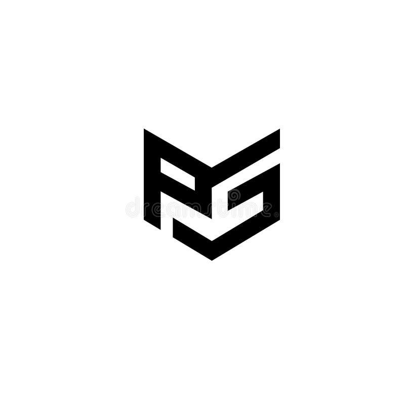 Conceito do logotipo da letra de BIRD2K Molde mínimo criativo do projeto do emblema Ícone elegante universal Logotype superior da ilustração stock