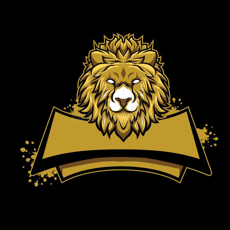 Conceito do logotipo do esport do jogo da mascote ilustração stock