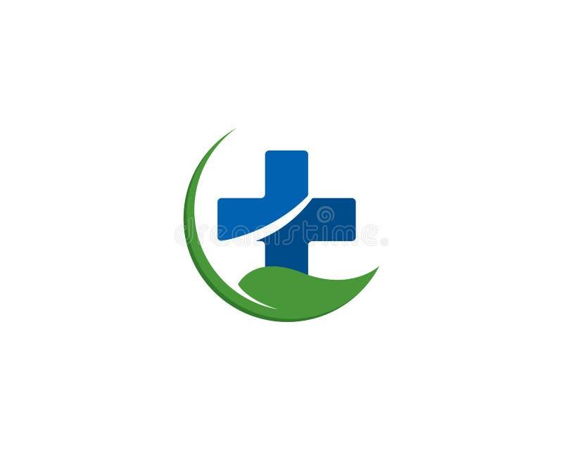 Conceito do logotipo do fitoterapia ilustração stock