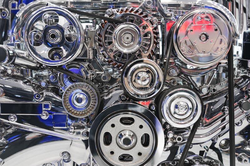 Conceito do motor de automóveis fotos de stock