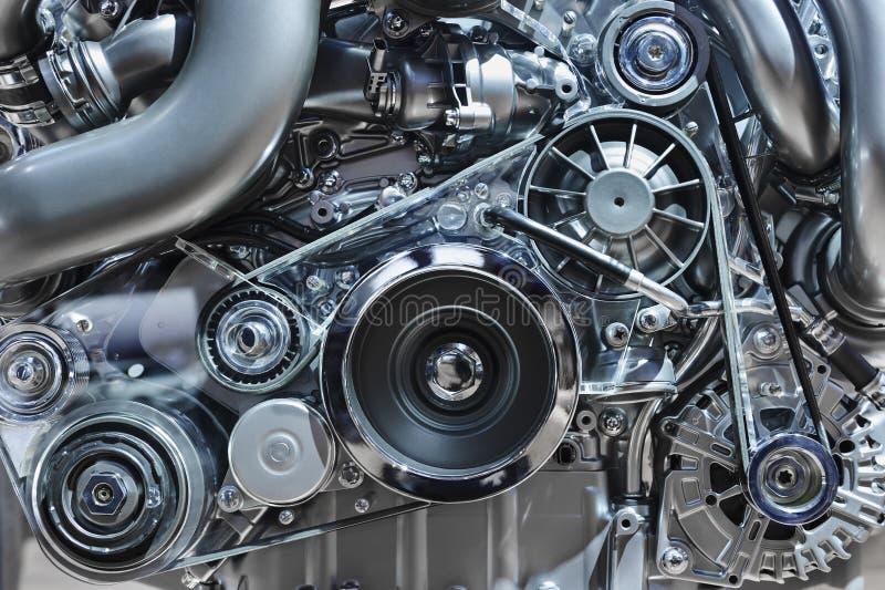 Conceito do motor de automóveis imagens de stock royalty free