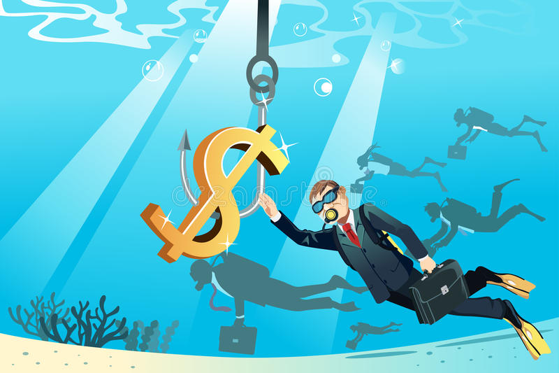 Conceito do negócio ilustração do vetor