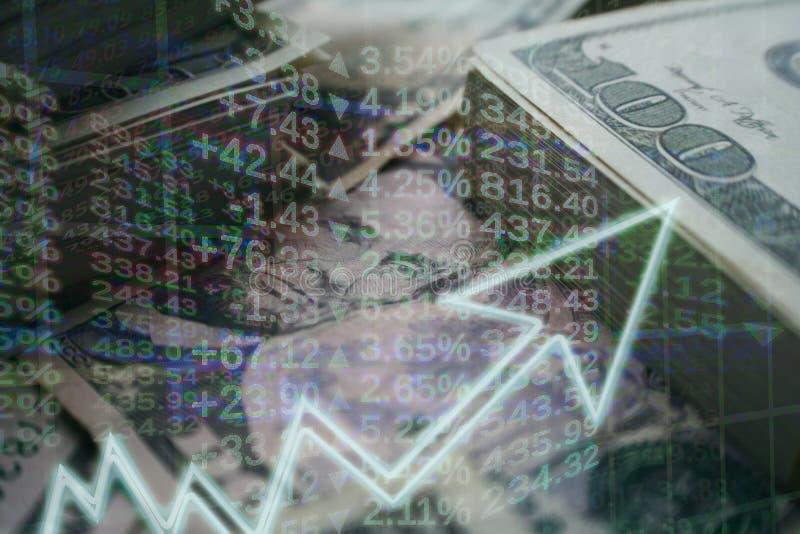 Conceito do negócio & da finança dos investimentos que crescem de alta qualidade fotografia de stock