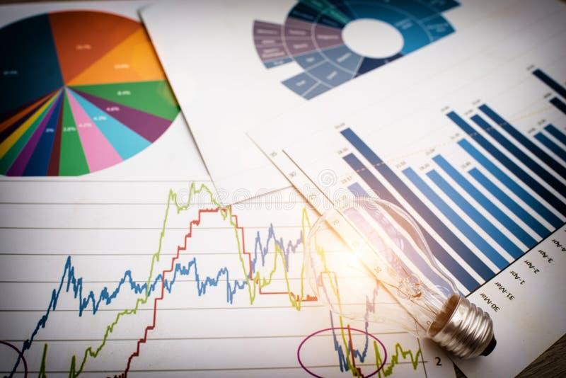 conceito do negócio para ideias novas foto de stock