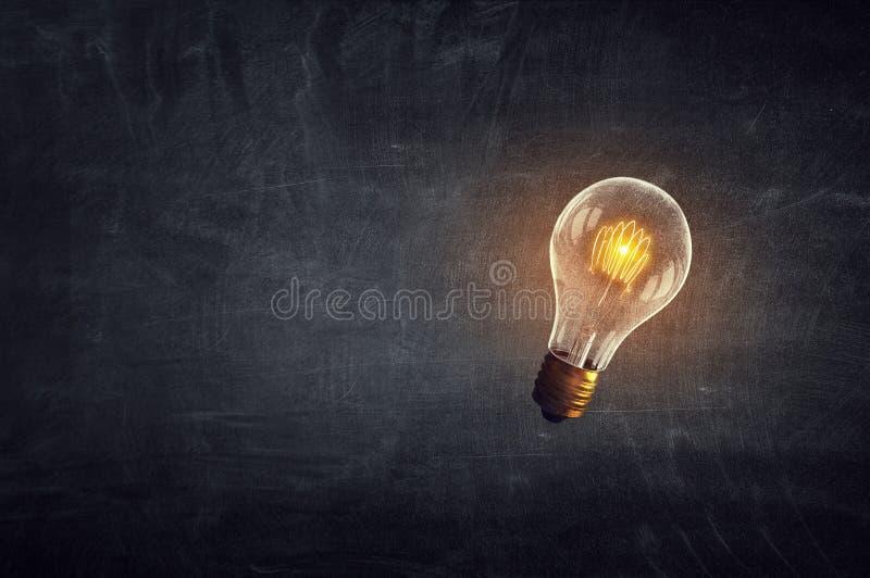 Conceito do pensamento criativo ilustração royalty free