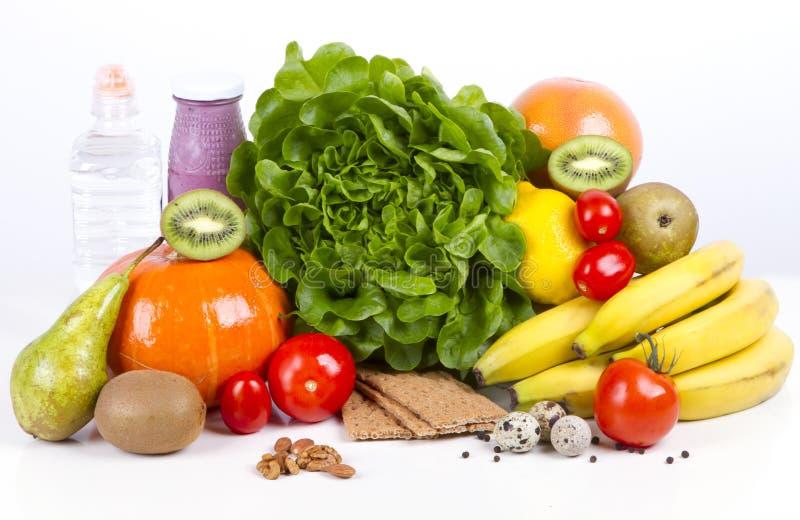 Conceito do pequeno almoço da perda de peso da dieta fotografia de stock royalty free