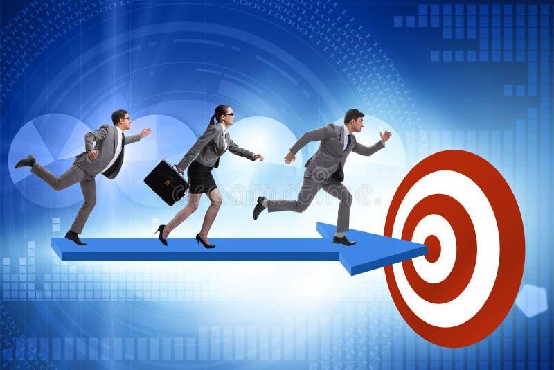 Conceito do planejamento estratégico incorporado fotos de stock royalty free