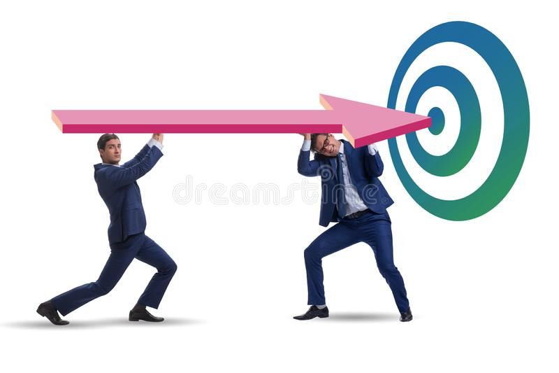 Conceito do planejamento estratégico incorporado fotografia de stock royalty free