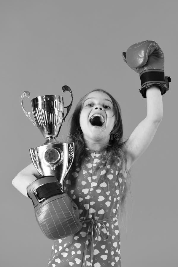 Conceito do poder da menina Esporte, energia, atividade imagens de stock