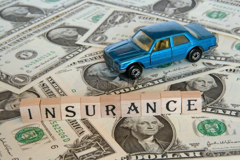 Conceito do seguro de carro fotografia de stock royalty free