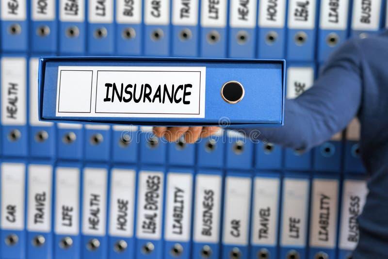 Conceito do seguro, gestão de riscos imagens de stock royalty free
