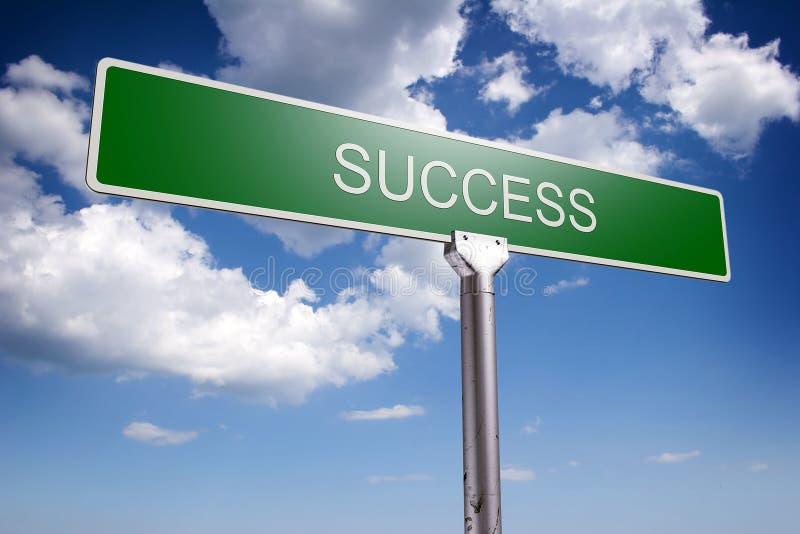 Conceito do sucesso ilustração do vetor