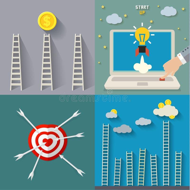 Download Conceito do sucesso ilustração do vetor. Ilustração de digital - 65581320