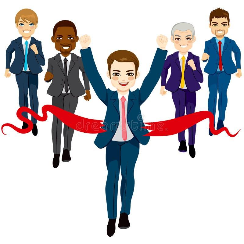 Conceito do sucesso da raça da unidade de negócio ilustração stock