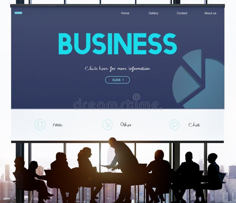Conceito do sucesso do corporaçõ da empresa de negócio imagens de stock