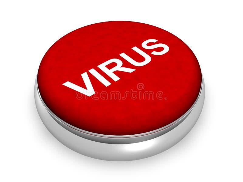 Conceito do vírus ilustração royalty free