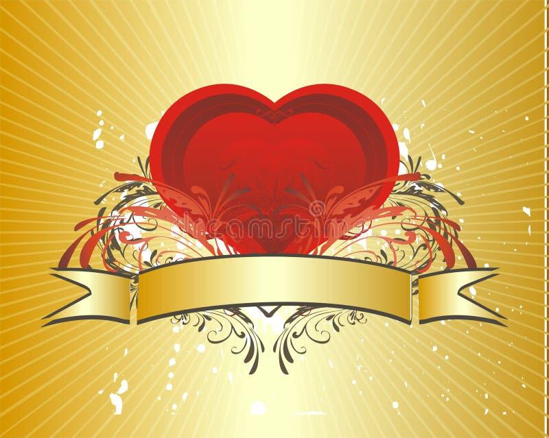 Conceito do Valentim (no.4) ilustração stock