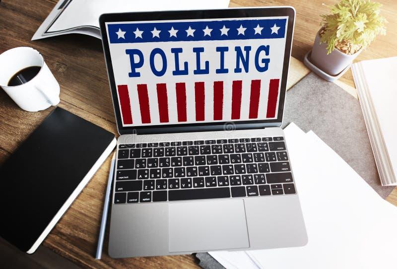 Conceito do voto da democracia do referendo do governo da política foto de stock royalty free