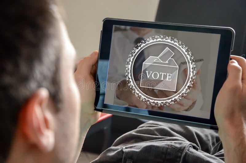 Conceito do voto imagem de stock royalty free