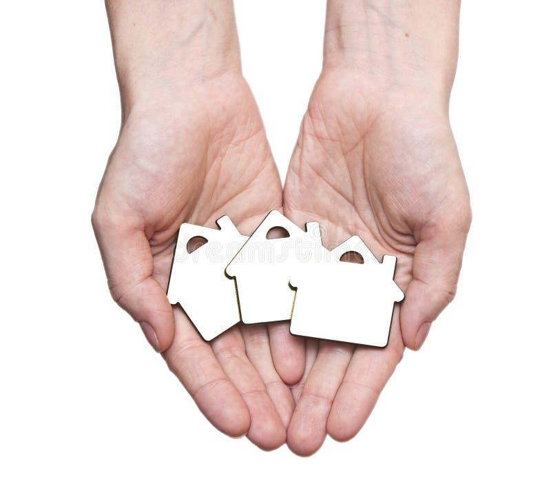 Download Conceito Dos Bens Imobiliários Imagem de Stock - Imagem de holding, humano: 26519519