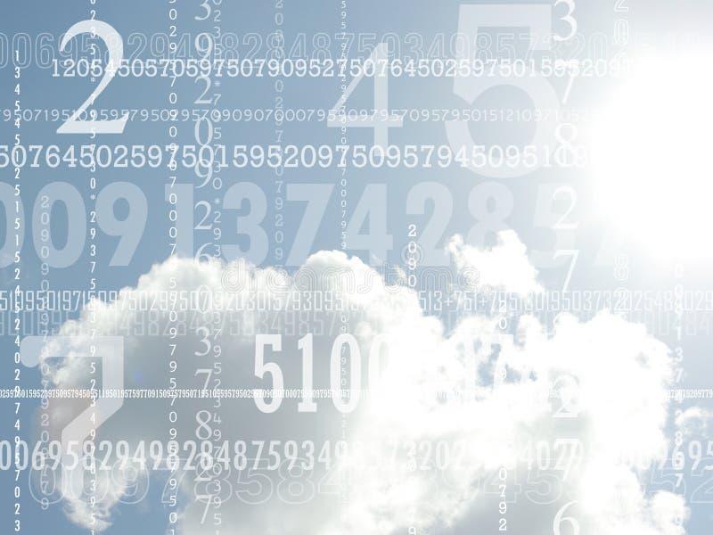 Conceito dos números imagem de stock