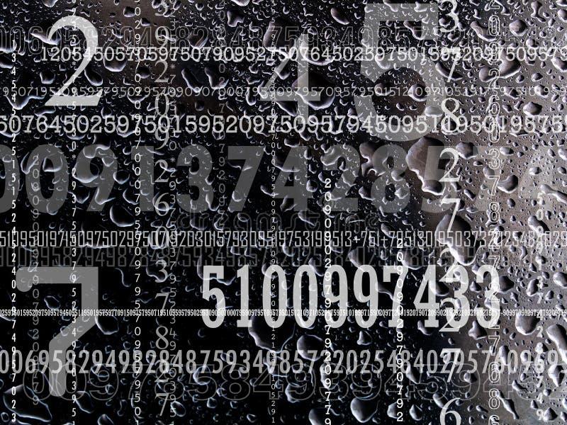 Conceito dos números fotos de stock royalty free