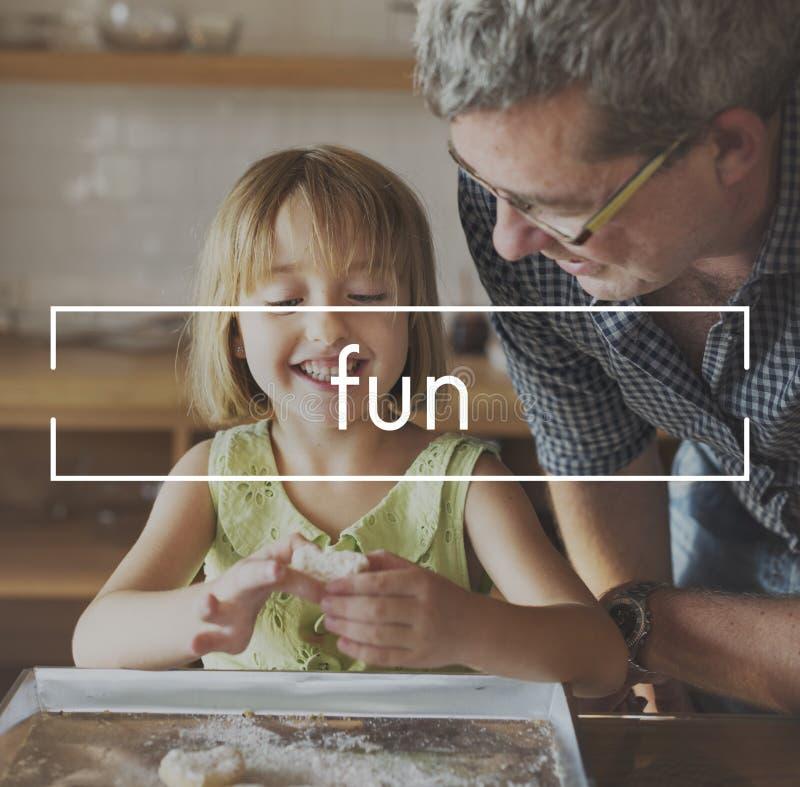 Conceito dos passatempos da atividade da apreciação do divertimento imagem de stock