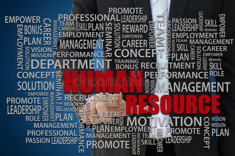Conceito dos recursos humanos fotos de stock royalty free