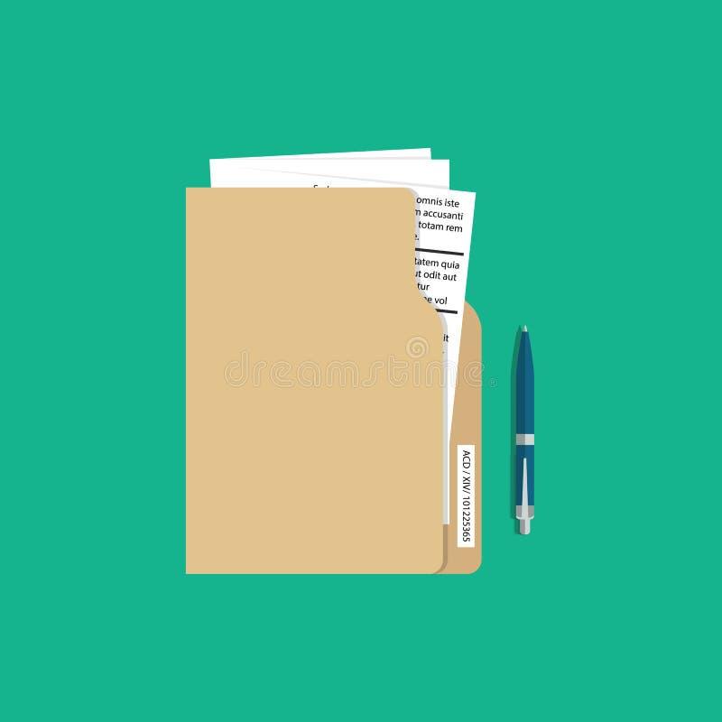 Conceito dos serviços a empresas Ilustração do vetor Termos de contrato ilustração do vetor