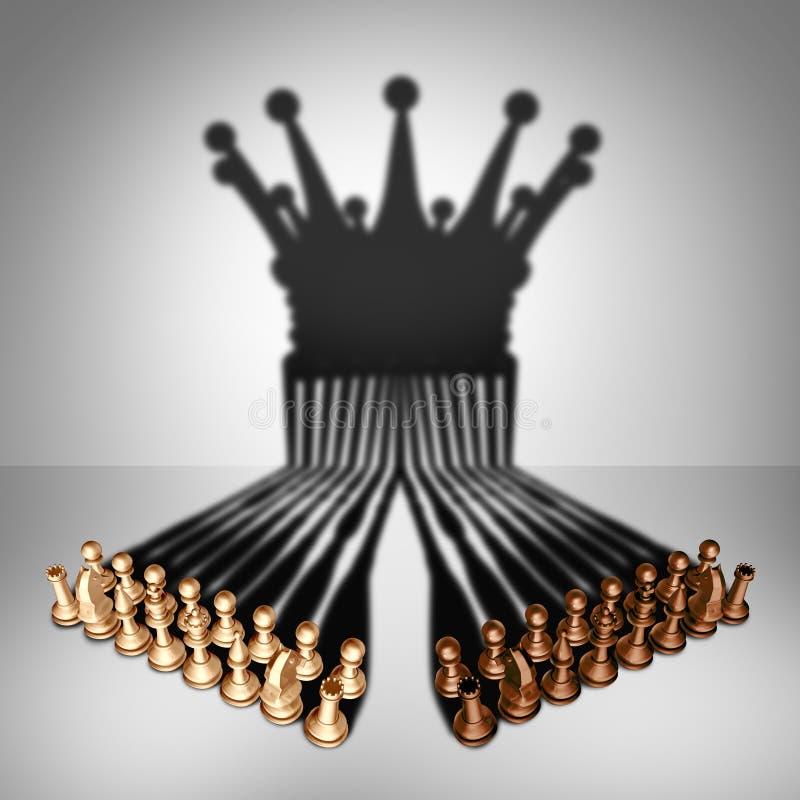 Conceito dos trabalhos de equipa Alliance ilustração royalty free