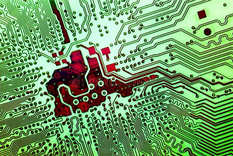 Conceito eletrônico das tecnologias ilustração royalty free