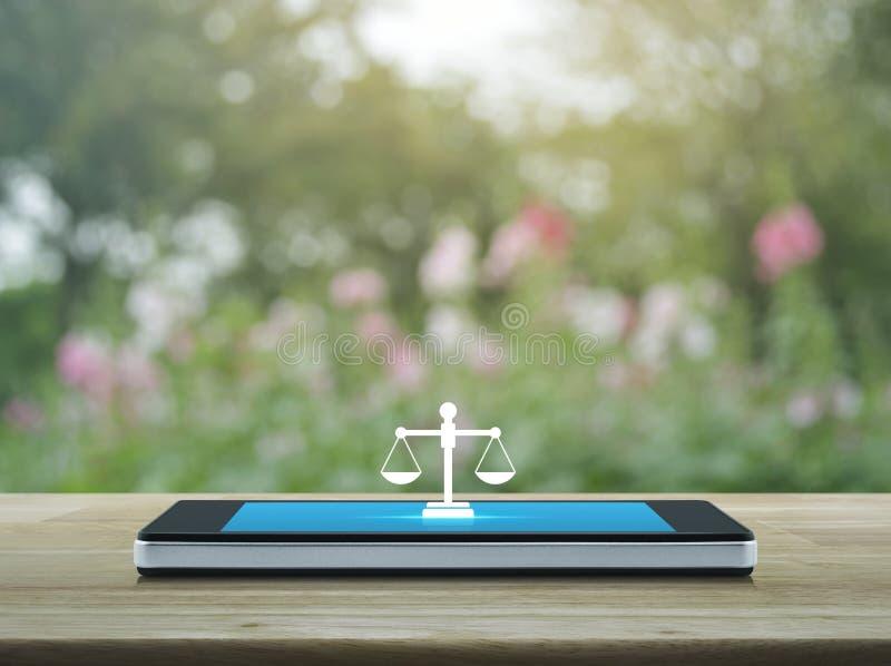Conceito em linha do serviço jurídico do negócio fotografia de stock royalty free