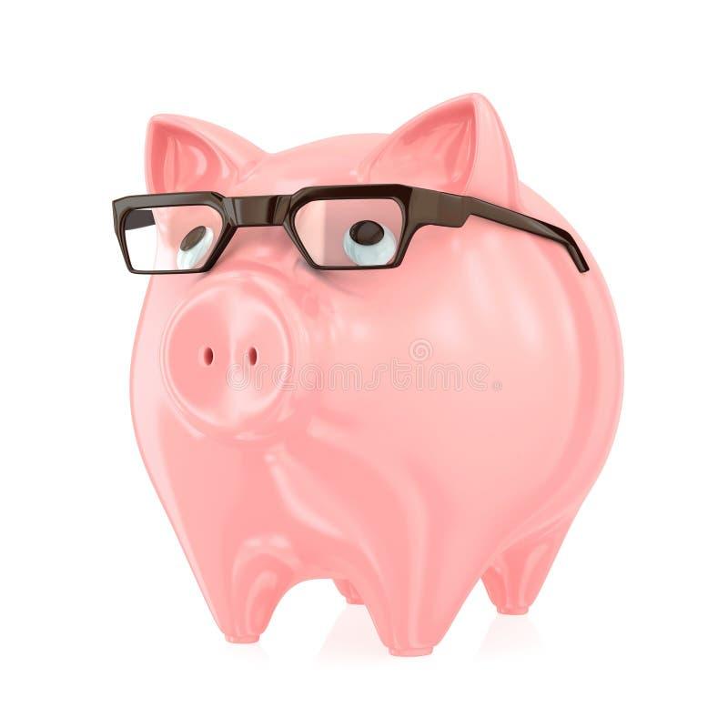 Conceito esperto do banco. ilustração do vetor