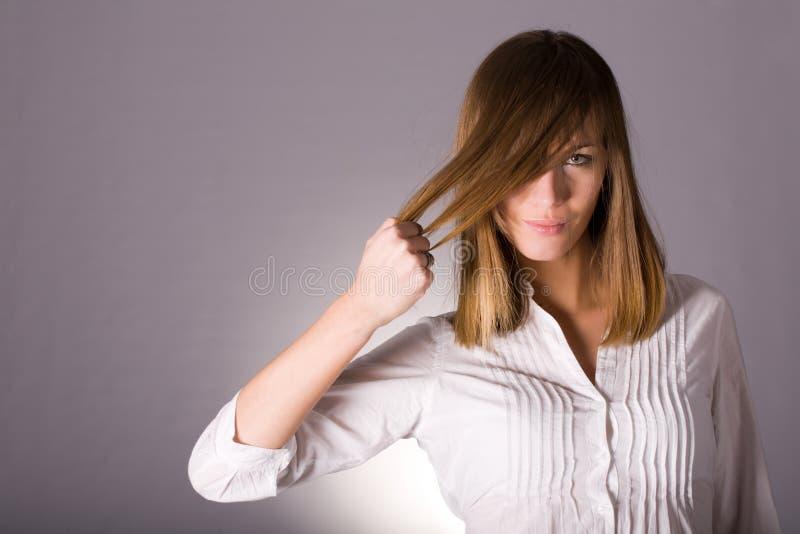 Conceito forte do cabelo fotos de stock royalty free