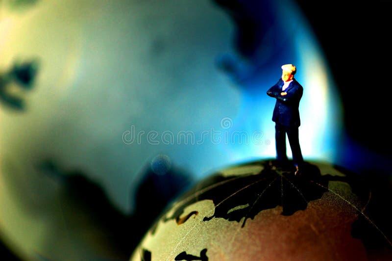 Conceito global do gerente superior foto de stock royalty free