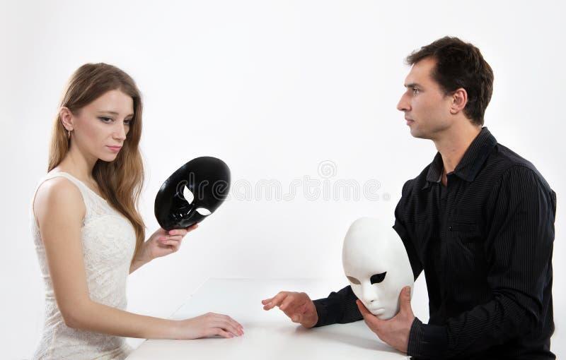 Conceito honesto do relacionamento fotos de stock