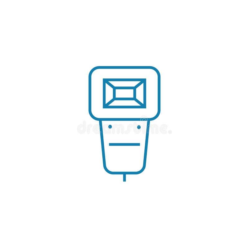 Conceito linear instantâneo montável do ícone Linha instantânea montável sinal do vetor, símbolo, ilustração ilustração royalty free