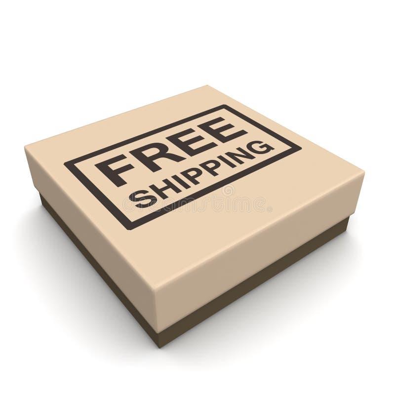 Conceito livre dos comércio electrónicos do transporte ilustração stock