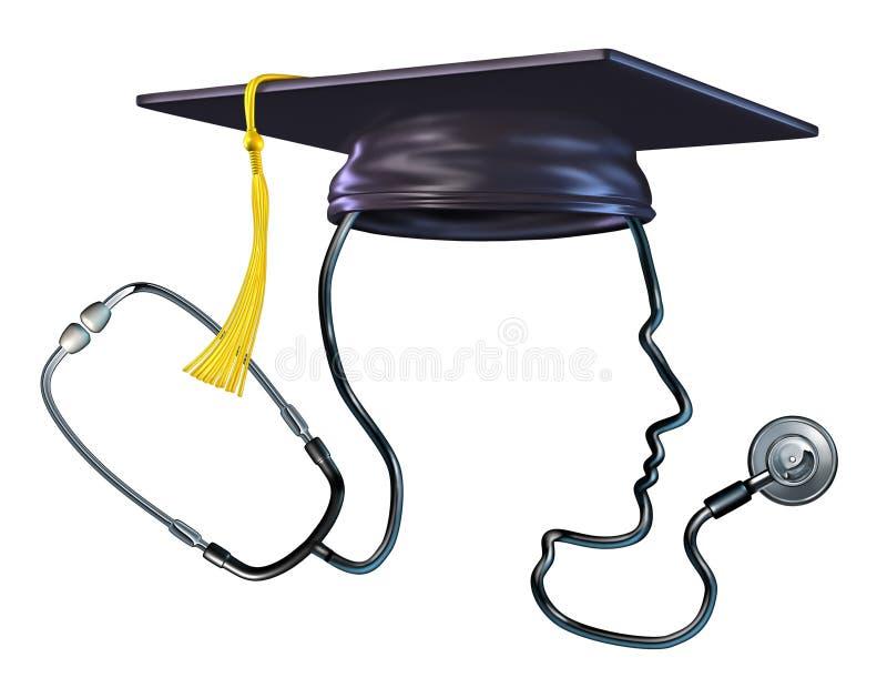 Conceito médico da educação ilustração stock