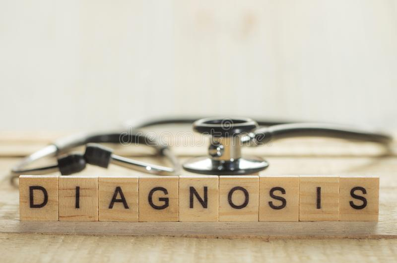 Conceito médico e dos cuidados médicos, diagnóstico imagem de stock royalty free